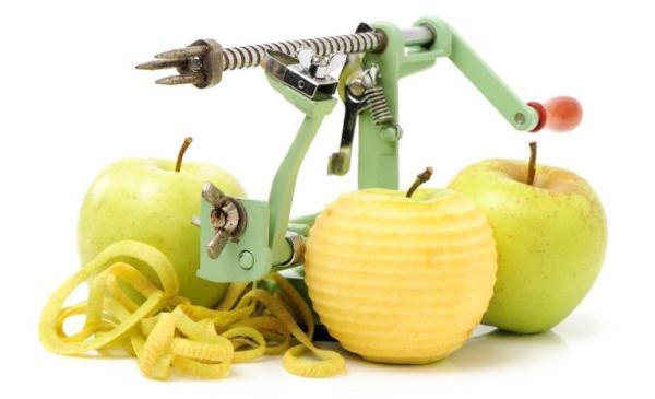 pisau pembersihan epal